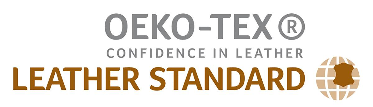 Leather standard by OEKO-TEX logo