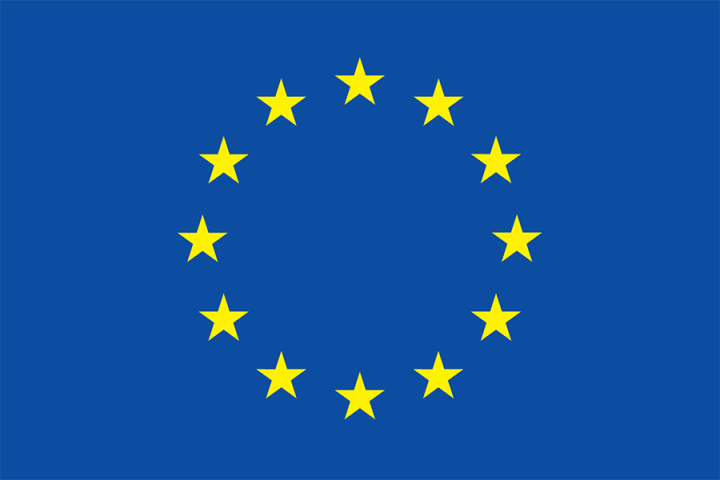 eu flag in colour