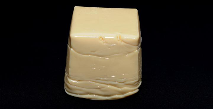 solid block of hotmelt