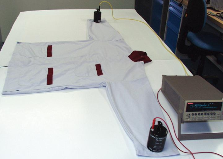 Sleeve to sleeve electric conductivity testing
