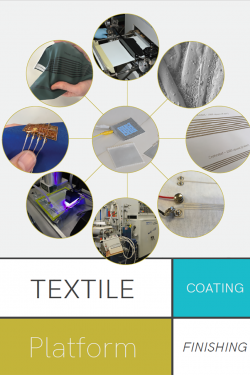 cover of the 2019 textile oating and finishing brochure